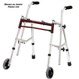 Drive Medical :: Glider Walker Jr. Flame Red