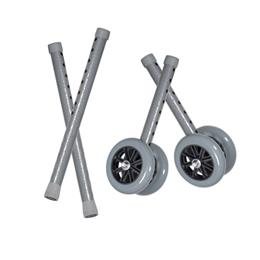 Drive Medical :: Bariatric Walker Wheels Combo Set (Wheels & Ext. Legs)