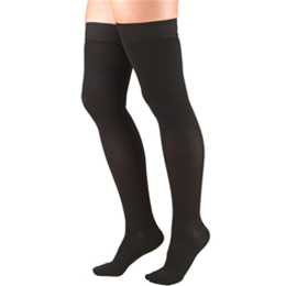 Airway Surgical :: 8868 TRUFORM Classic Compression Ladies' Thigh High, Closed Toe, Stay-Up Beaded Top, Stocking
