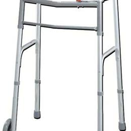 Complete Medical :: Easy-Release 2 Button Walker Youth W/3  Wheels
