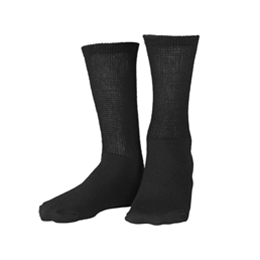 Airway Surgical :: 1918 TRUFORM Diabetic Loose-Fit Top Crew Length Socks