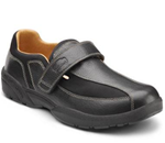 Douglas :: Lightweight leather and Lycra with a Velcro closure. Accommodate