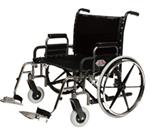 Extra-Wide Wheelchair :: Heavyweight chair is best choice for users up to 500 lbs.