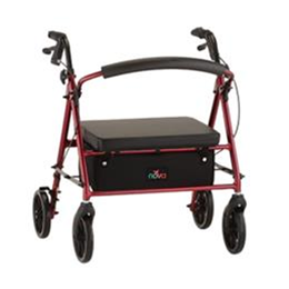 Image of Vibe Petite Wide Rolling Walker 2