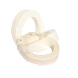 Essential Medical Supply :: Hinged Toilet Seat Riser - Elongated Toilet
