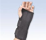 FLA UniFit® Universal Wrist Splint - Unique design fits a wide range of sizes. Dorsal stay can be rem