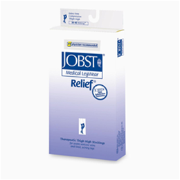 Jobst Relief 30-40 mmHg Thigh High Support Stockings (Closed Toe) - Image Number 17935