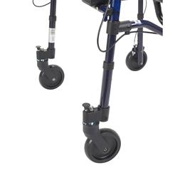 "Image of Clever Lite Rollator Junior Walker With 5"" Casters 6"
